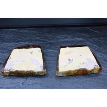 Marbré de foie gras au ris...