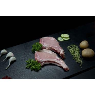 côte de porc 2 pièces 500 grs